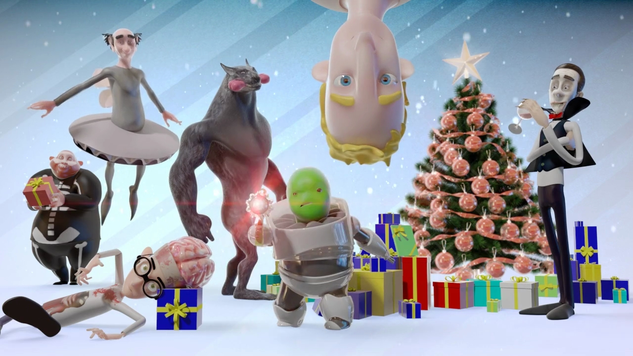 Animation Frohe Weihnachten.3d Animator Cgartist 3d Animation Character Animation Frohe